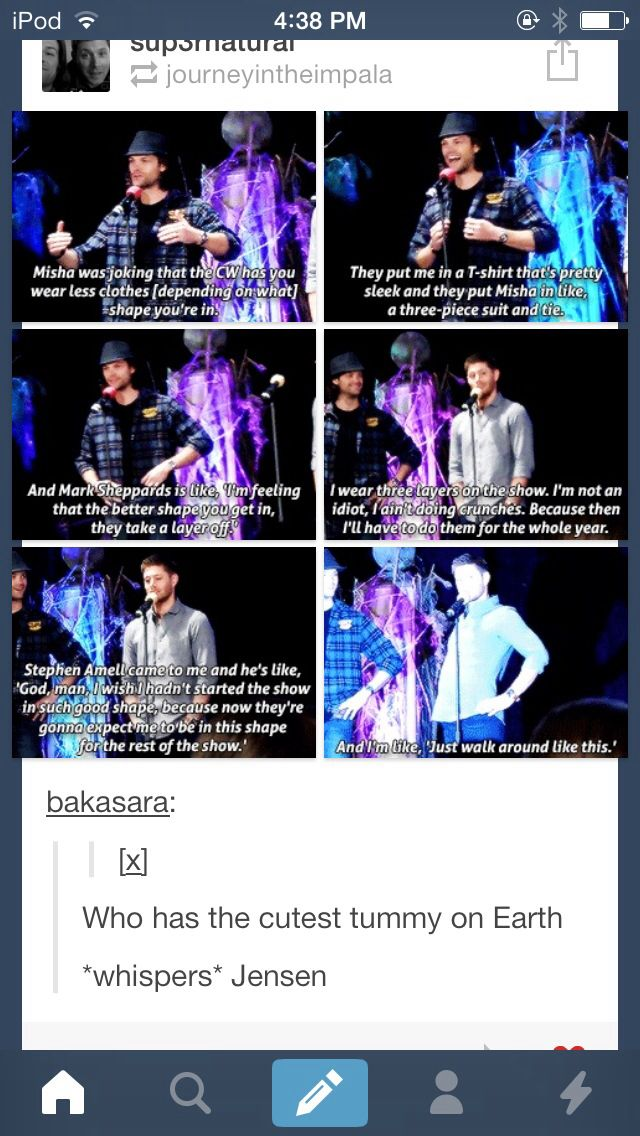 Supernatural - Jared & Jensen on CW and layers of clothes - OMC this is cute!