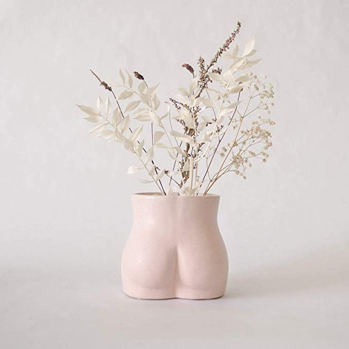 Base Roots Body Flower Vase Vases For Decor Modern Boho Chic Home Decor Small Accent Piece For Living Room Indoor In 2020 Flower Vases Chic Home Decor Modern Boho