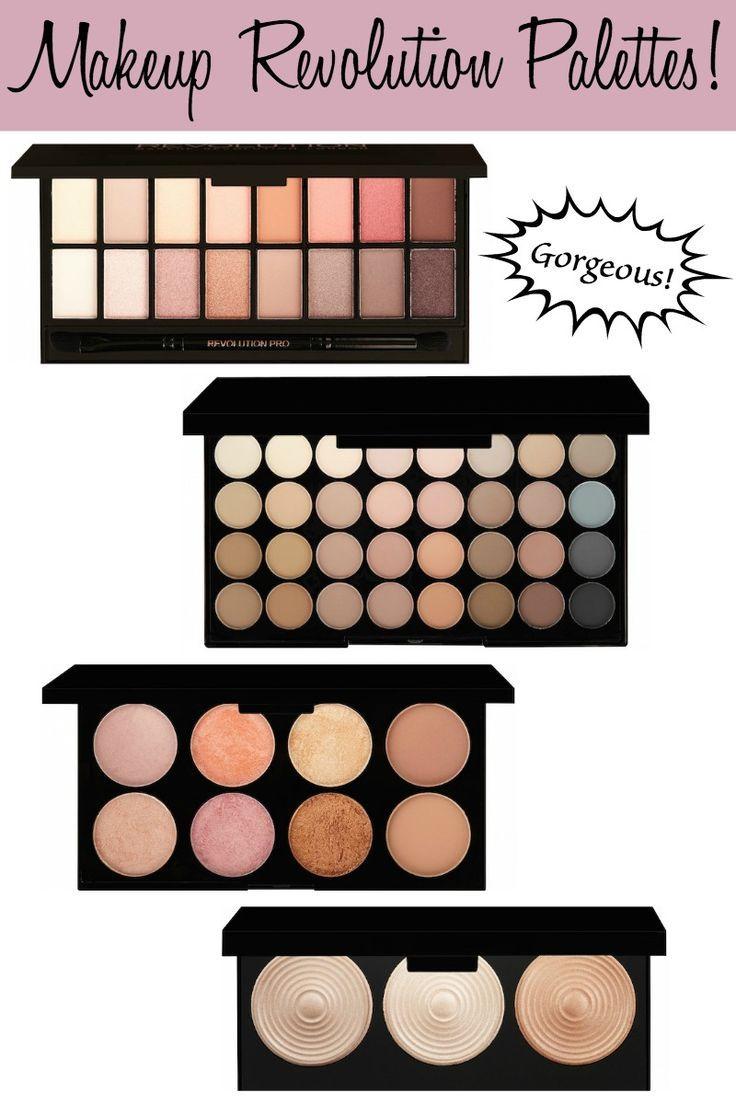Beauty spotlight: Makeup Revolution Palettes...gorgeous colors!