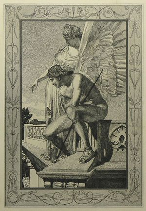 Apuleius Amor and Psyche. Opus V by Max Klinger