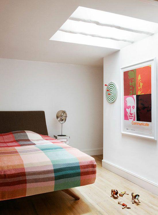 Søren Rose Kjær via The Designer Pad: Nice Bedrooms, Beds, Bedrooms Danishes, Colors Bedrooms, Danishes Design Bedrooms, Interiors Design, Søren Rose, Plaid Blanket, Bedrooms Ideas