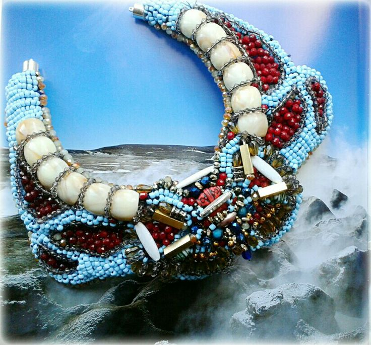 Statement collar by Anita Quansah London