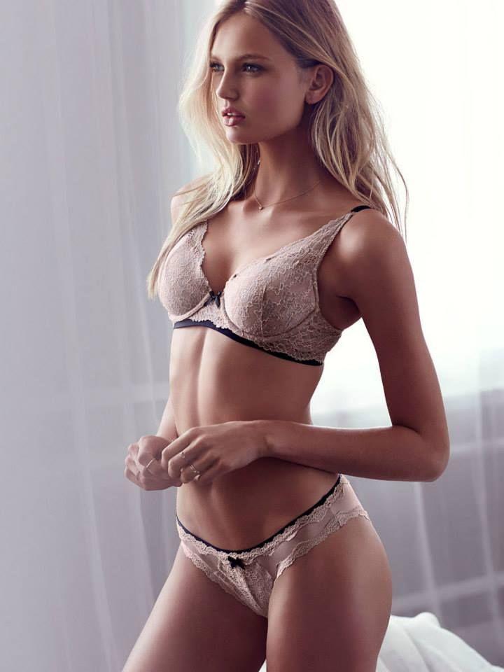 Romee Strijd for Victoria's Secret Lingerie June 2015 ...