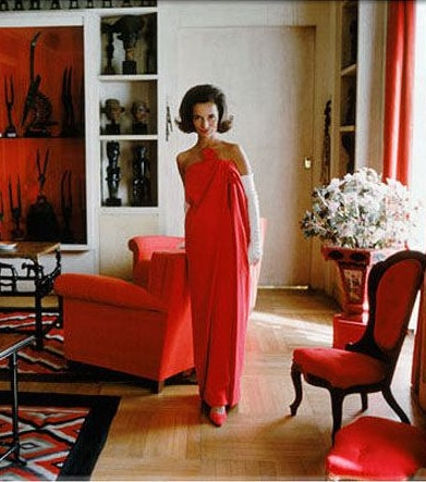 Lee Radziwill in London by Mark Shaw, 1962