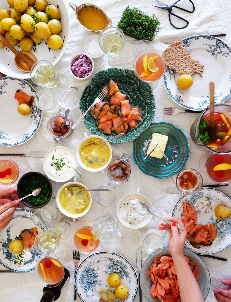 Summer party. Recipes, food styling and photography: Louise Ljung