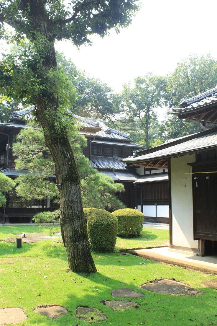japanese old garden, Edo-tokyo Tatemonoen, Tokyo
