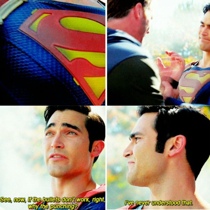 My favorite Superman line from Supergirl!!