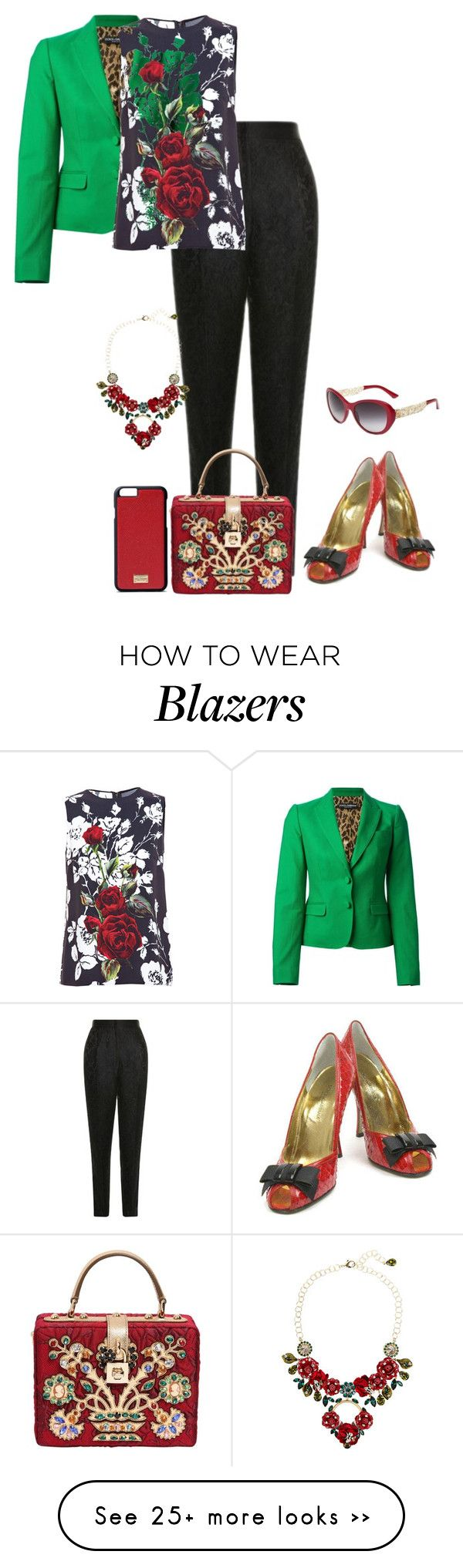 """""""d&g"""" by kim-coffey-harlow on Polyvore featuring Dolce&Gabbana"""