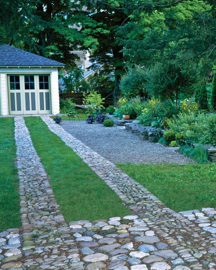 Edible Landscape Design: Best 18 Ribbon Driveways Images On Pinterest