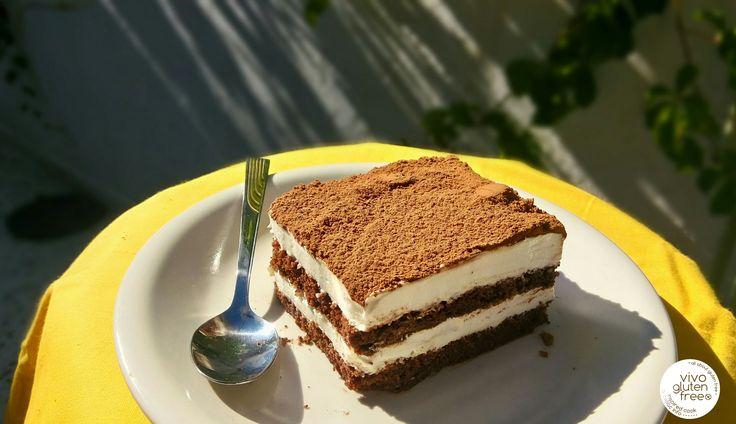 Θεϊκό τιραμισού χωρίς γλουτένη – vivo gluten free