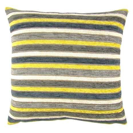 Blenheim Ochre Cushion Cover | Dunelm