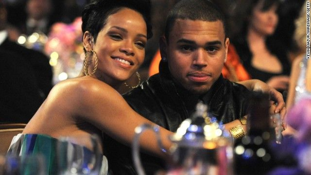 Chris Brown  & Rhianna – Chris is currently on probation for felony domestic violence conviction. To read about latest (10/27/13 ) incident click HERE