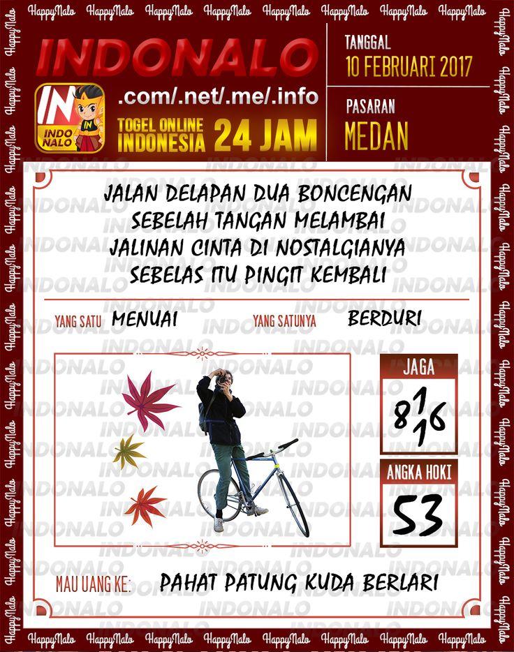 Angka Taysen 6D Togel Wap Online Live Draw 4D Indonalo Medan 10 Februari 2017
