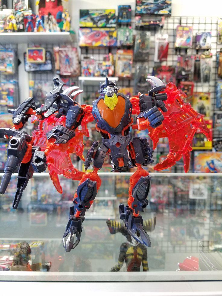 Transformers Construct-Bots Predaking