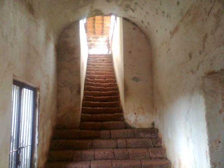 Inside the Goa fort!!