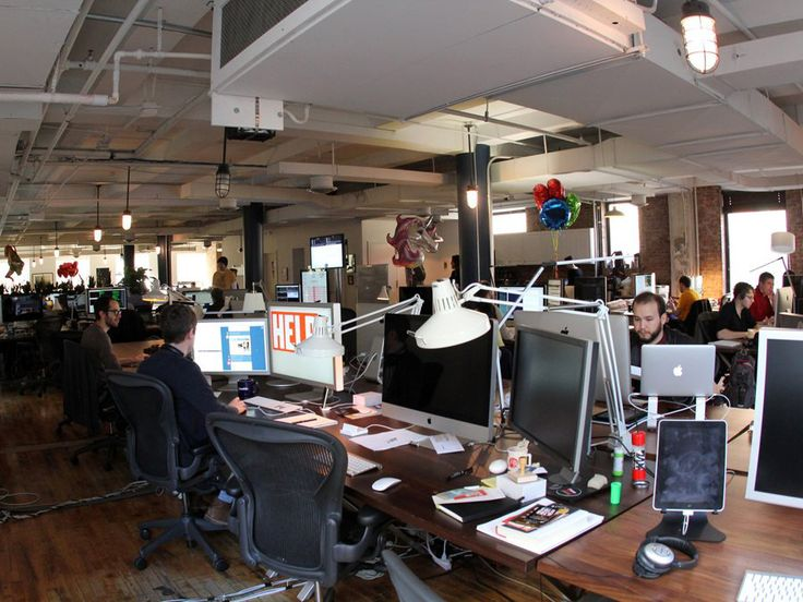 The Tumblr Offices: Coolest Offices in Tech  #ArchiJuice #OfficeDesign