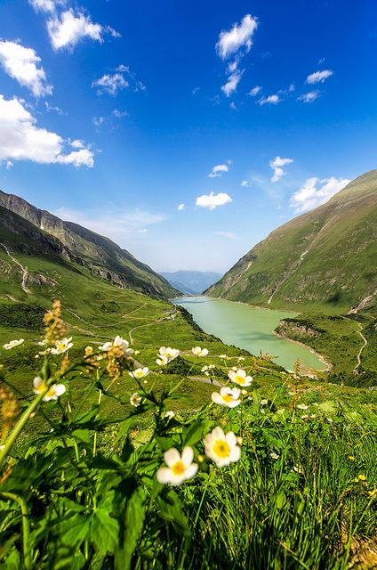Kaprun Dam,  I took this shot on a recent vacation to Austria. It shows one of the two dams in the valley of Kaprun. Have a great weekend eve...