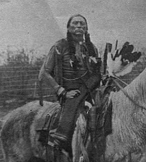 Quanah (aka Fragrance, aka Quanah Parker) - Comanche/Scots-Irish - circa 1892
