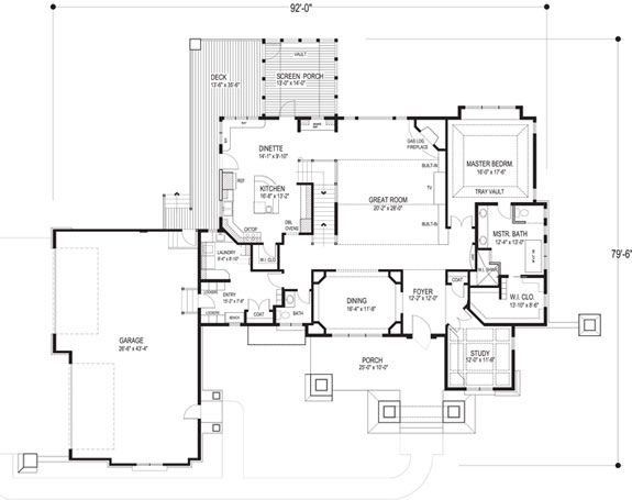 Peachtree Square Apartments Floor Plans: 97 Best House Plans With Porches Images On Pinterest