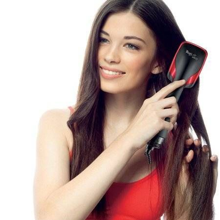 Escova Secadora e Alisadora Almofadada Hair Dryer Styler | Photography | Cabelo liso natural, Cabelo e Cabelo liso
