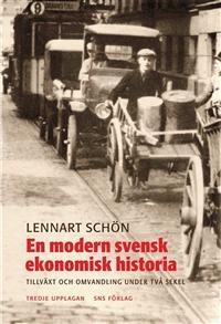 En bok om långa ekonomiska cykler (40 år), ekonomisk historia: http://www.adlibris.com/se/product.aspx?isbn=9186949128 | Titel: En modern svensk ekonomisk historia : tillväxt och omvandling under två seke - Författare: Lennart Schön - ISBN: 9186949128 - Pris: 282 kr