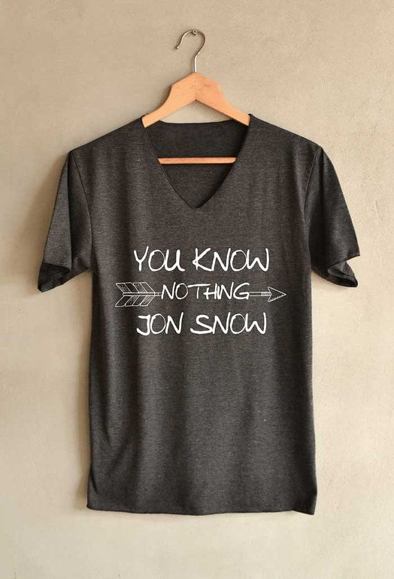 Game of thrones You Know Nothing Jon Snow by blackpearlmaker