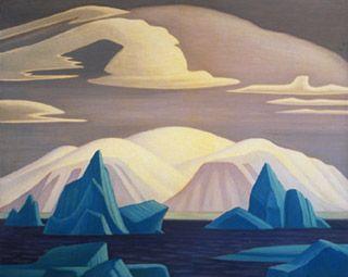 Lawren Harris - a magical Arctic scene