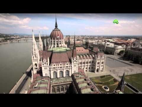 Magyarország madártávlatból - Budapest - YouTube