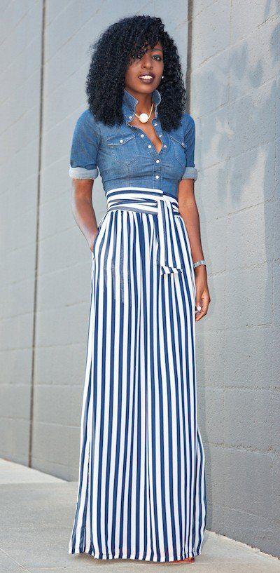 maxi stripes the skirt to buy on amazon