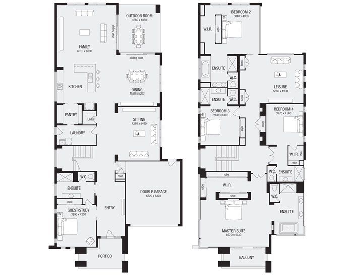17 best ideas about double storey house plans on pinterest Interactive house plans