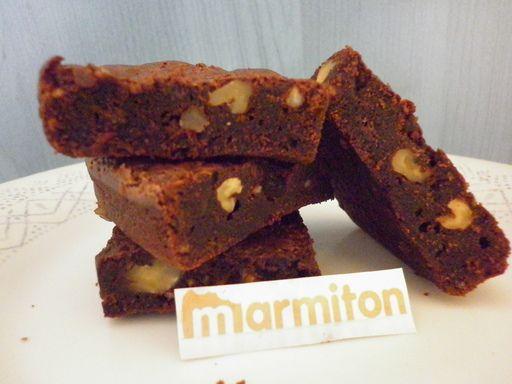 Recette de Brownies chocolat aux noix