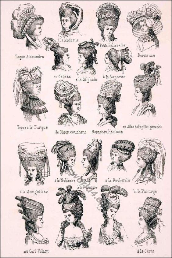 Resultado de imagen para coiffures seculo XV