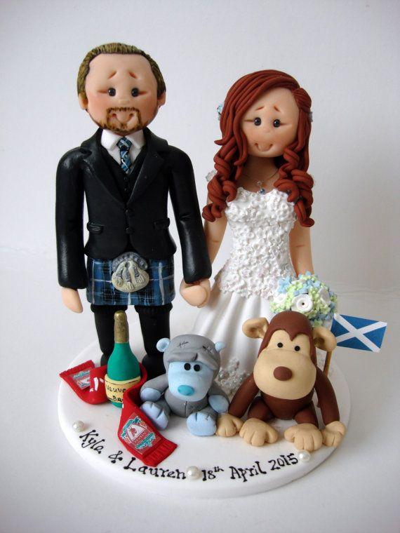 cheeky scottish wedding cake toppers best 25 kilt wedding ideas on scottish 12550
