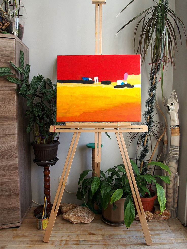 Abstract painting Acryl on canvas GianniTheArtist