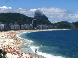 Copacabana, Rio de Janeiro, Brazil. Sign up today for a free account and share your beach stories! http://www.beachvacationsonline.com/