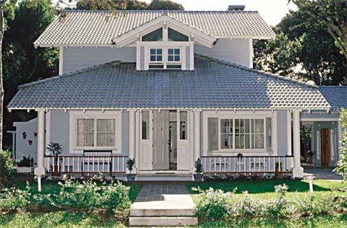Fachadas o mundo como inspira o architecture facades for Casas americanas fachadas