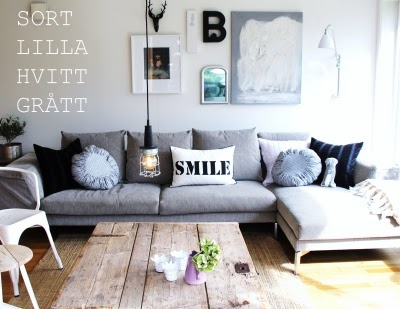 Grey Couch Room
