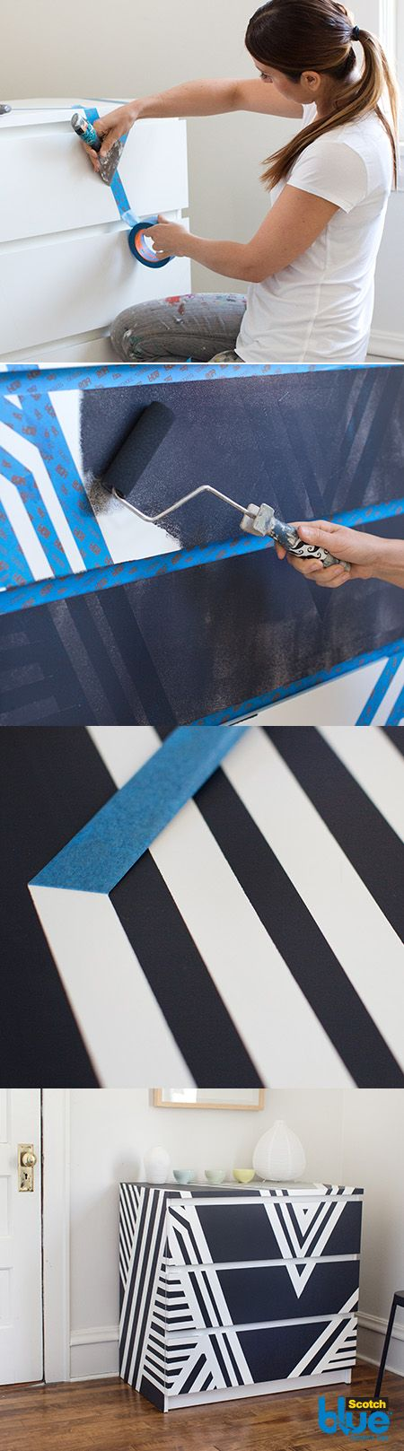 Let your creativity shine with our Striking Linework pattern. This incorporates sharp angles that personalize the simple stripe and give it power and visual impact. A fractured, abstract look also helps dimensionalize stripes to add depth and form to any surface.