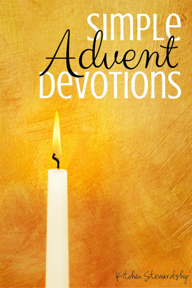 A Christmas Devotional YOU Can Use: For Families