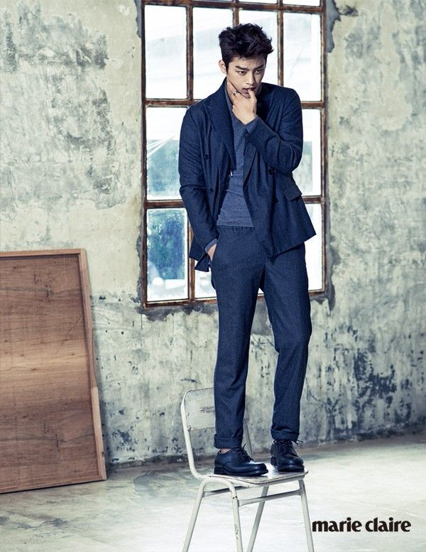 Seo inguk for marie claire september issue 2014