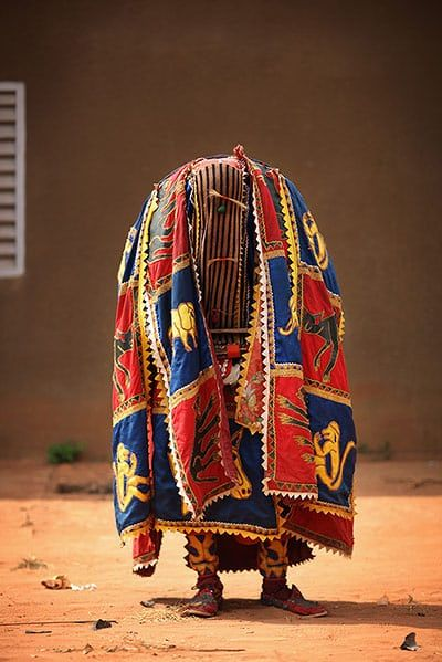 Benin's voodoo festival is held every year and is the west African country's most vibrant and colourful event