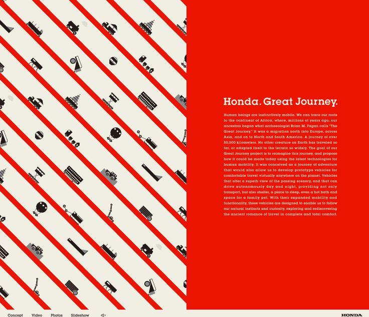 デザインも設計もキレイ・・・・│HONDA great journey