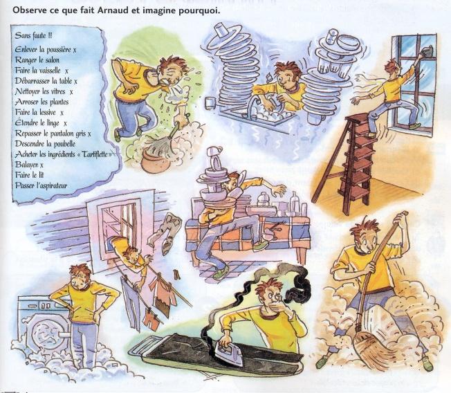 Arnaud fait le ménage