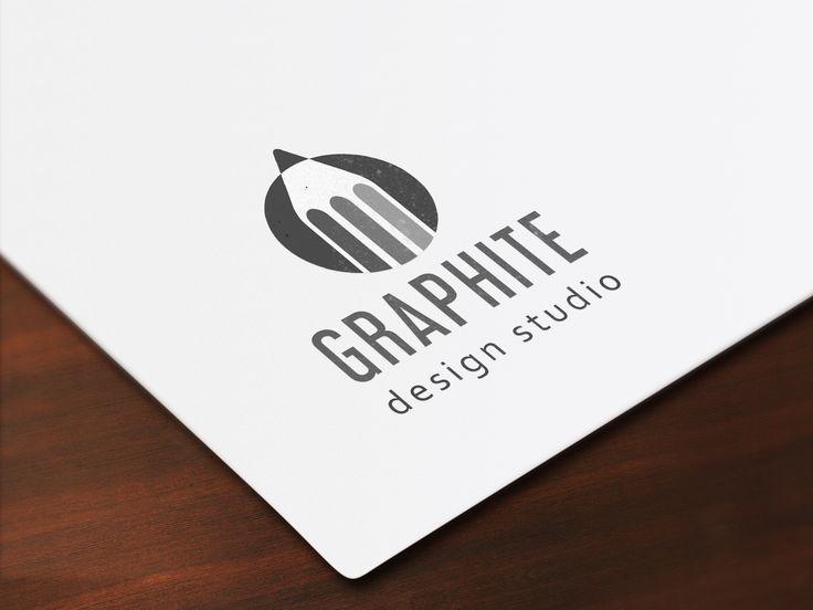 Shades of grey :-) Pencil logo design, for a design studio. #pencillogo #barberrydesign #logodesign #shades #grey #graphite