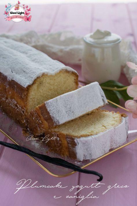 Plumcake allo yogurt greco e vaniglia che si scioglie in bocca! Semplice, soffice, goloso e buonissimo! Perfetto per la colazione o per la merenda!