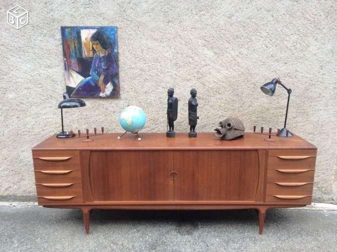 Enfilade johannes andersen en teck ameublement basrhin leboncoinfr with bon coin ameublement bas - Le bon coin normandie meubles ...