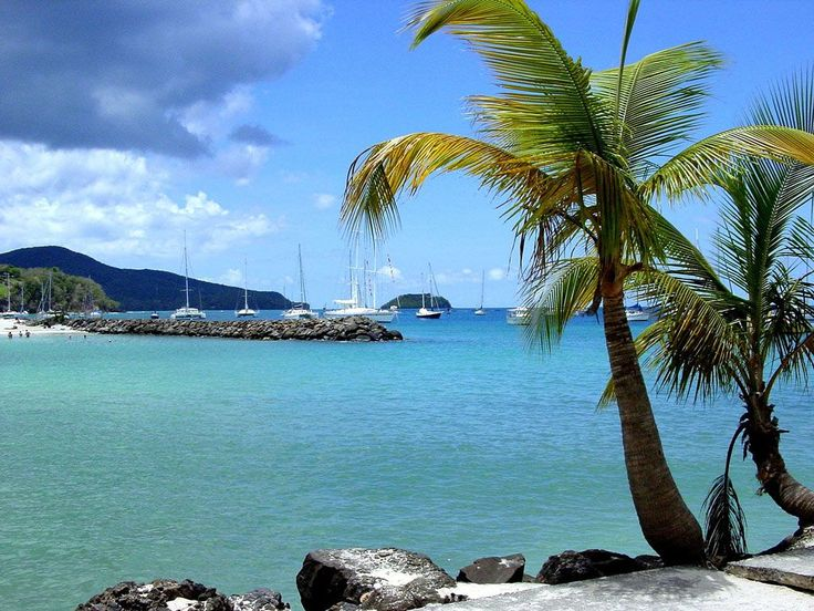 #Martinique. Fabulous sea and suggestive Martinique's panorama.