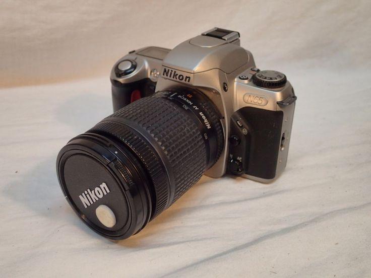 Nikon N65 Film Camera with Nikkor 28-80mm 1:3.5-5.6 D Lens #Nikon