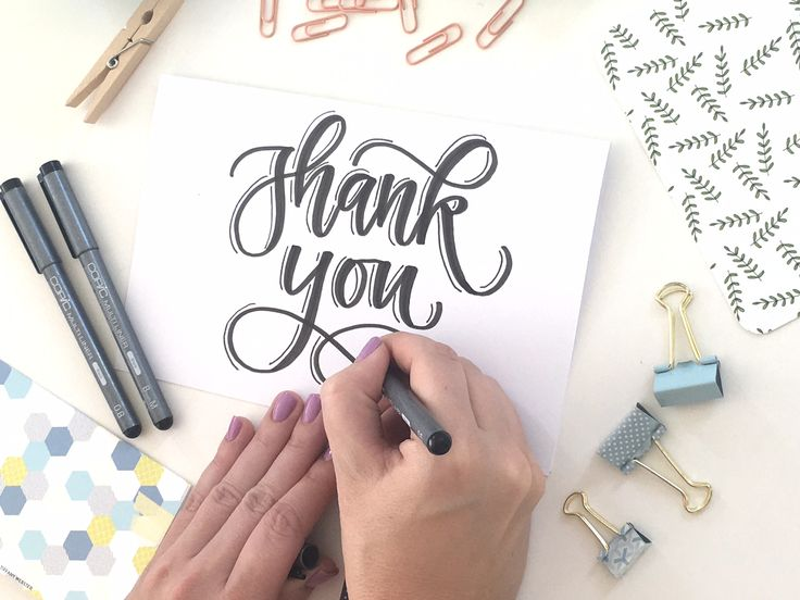 Best 25 fake calligraphy ideas on pinterest fake Thank you in calligraphy writing