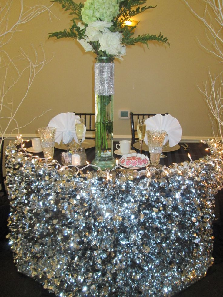 Best 136 Best Images About Bling Sweetheart Tables On Pinterest 400 x 300